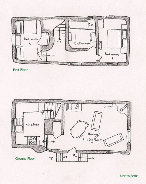Peacock Cottage Floor Plan