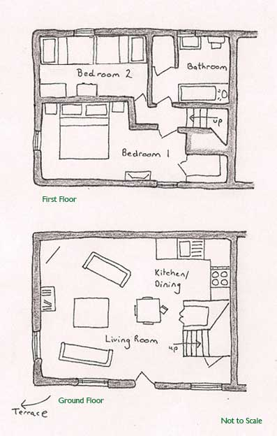 Aylesbury Cottage Floor Plan