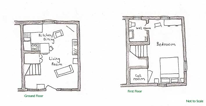Bantam Cottage Floor Plan