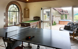 Georgian House Games Room