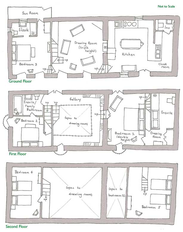 Old Barn Floor Plan