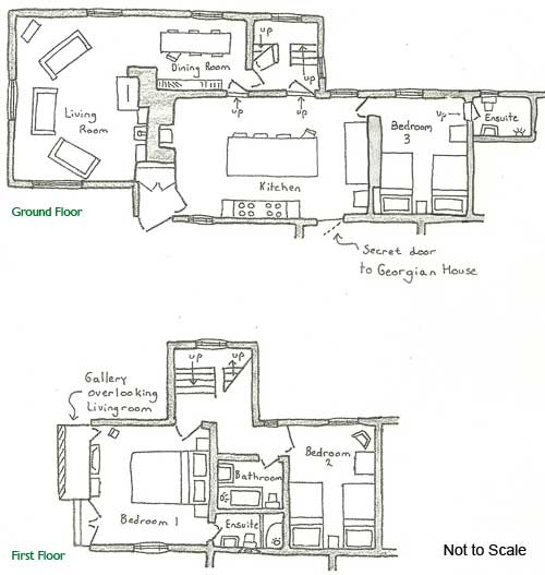 Old Farmhouse Floor Plan